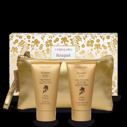 L'Erbolario - Bouquet d'Oro Beauty: Bagnoschiuma da 75 ml Crema