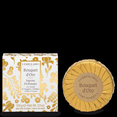 L'Erbolario - Bouquet d'Oro Sapone Profumato 100g