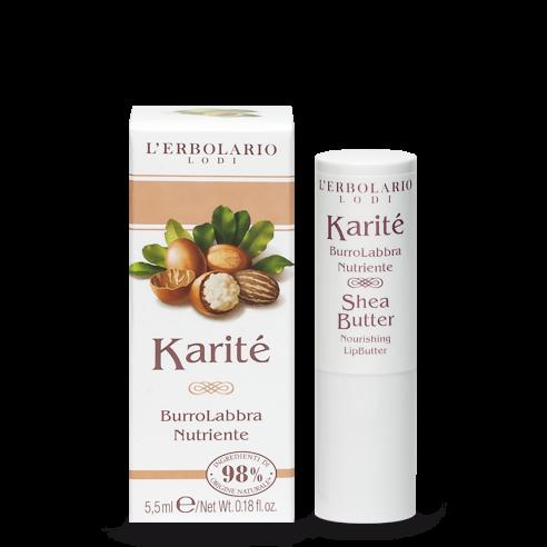 L'Erbolario - Karité Burro Labbra Nutriente 5,5 ml