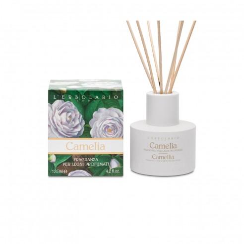 L'Erbolario - Camelia Fragranza per Legni Profumati 125 ml