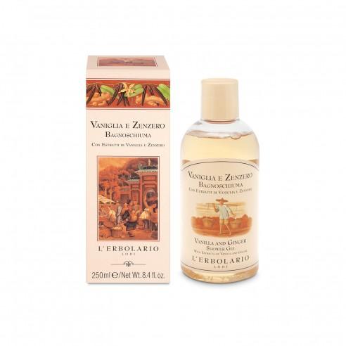 L'Erbolario - Vaniglia e Zenzero Bagnoschiuma 250 ml