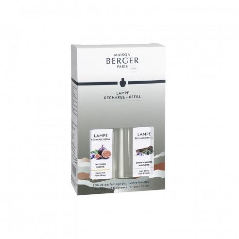 Maison Berger - Ricarica Lampada DuoPack Land Lait de