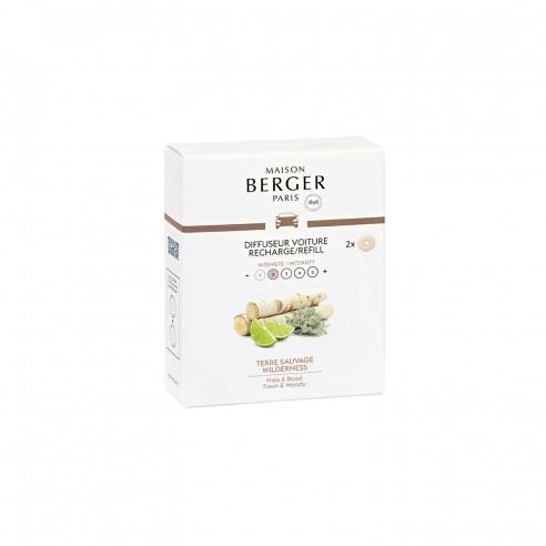 Maison Berger - Ricariche per diffusore per auto Terre Sauvage