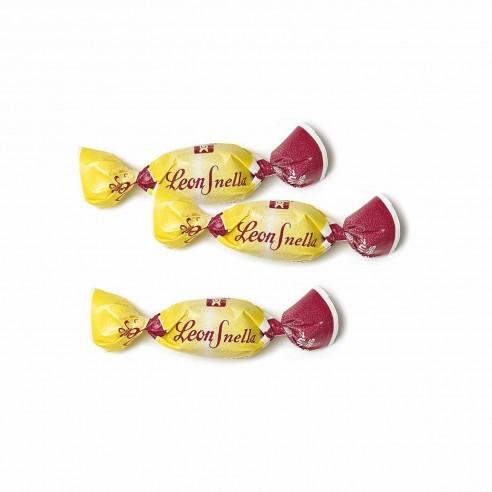Pastiglie Leone - Leonsnella senza zucchero Rabarbaro