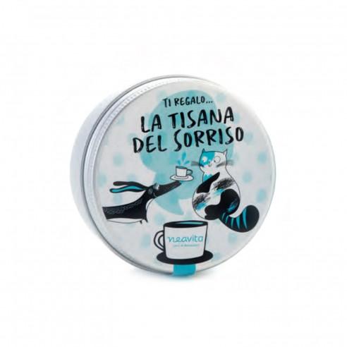 Neavita - Tiny tin Tisane e Parole la Tisana del Sorriso
