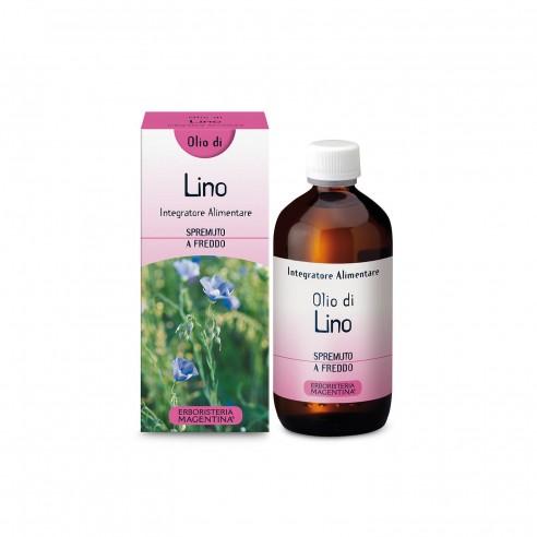 Erboristeria Magentina - Olio Lino 250 Ml Alimentare