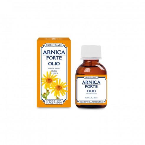 Erboristeria Magentina - Olio Arnica Forte Puro 100% 50 Ml