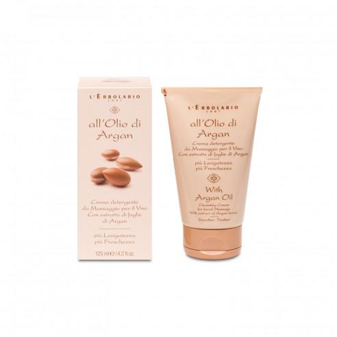 L'Erbolario - Argan Crema detergente da Massaggio Viso 125 ml
