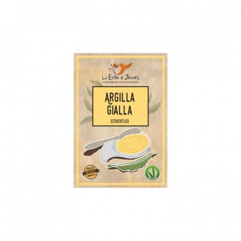 Le Erbe di Janas - Argilla Gialla 50 gr