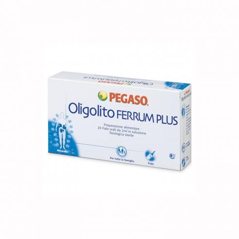 Pegaso - Oligolito Ferrum Plus 20 Fiale Prep Alim