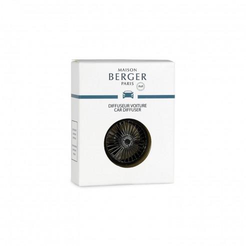 Maison Berger - Clip per diffusore per auto Car Weel Noire