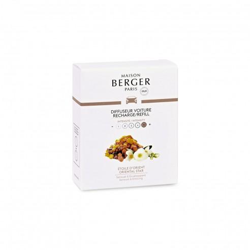 Maison Berger - Cofanetto di 2 ricariche in ceramica Etoile