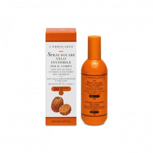 L'Erbolario - Spray Solare Velo Invisibile SPF50 150 ml