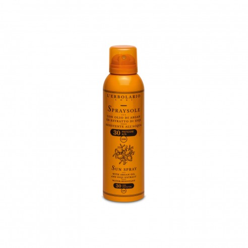L'Erbolario - Spraysole con Olio di Argan ed Estratto di Goji