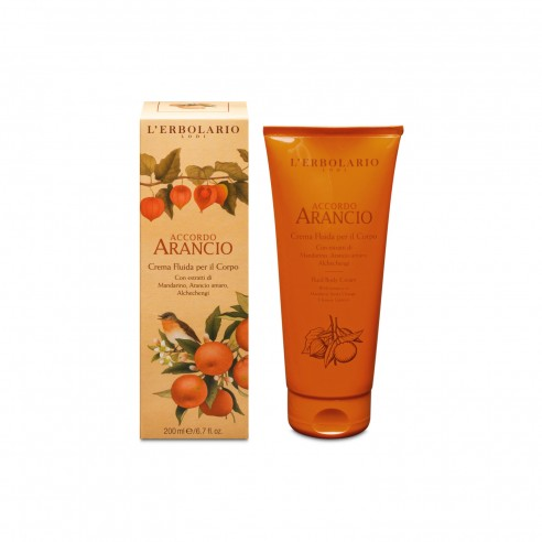 L'Erbolario - Accordo Arancio Crema Fluida per il Corpo 200 ml